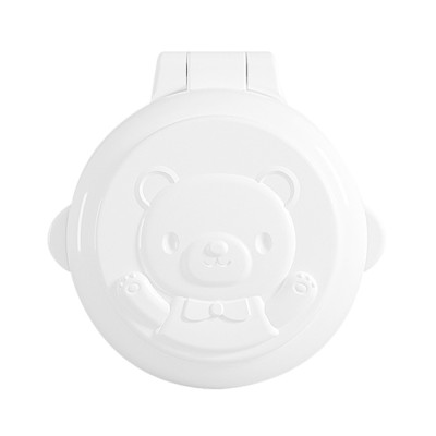 Cute Cartoon Bear Pattern Decorative Electric Appliance 2PCS Baby Safe Lock Suit Washing Machine Car Computer Protection Buckle
