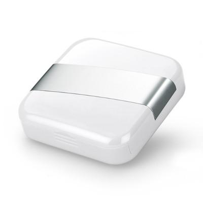 Minimalist Portable Creative Push-pull Split Slots Food-grade ABS Little Pill Case Jewelry Chewing Gum Storage Box