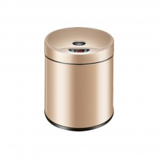 Creative Intelligent Sensor Automatic Cover Open Electric Garbage Bin Trash Can with Scratching-proof Zinc Plating