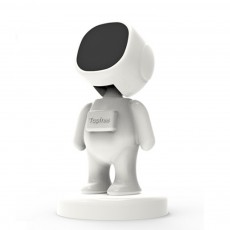 Creative Cute Spaceman Model Car Mobile Phone Holder Rotatable Smartphone Supporter with Strong Magnetic Suction