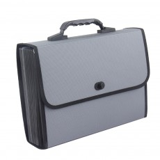 Portable Hand-held Knitted Organ Bag 26-tier Multi-tier Folders Office File Bag Paper File Bag