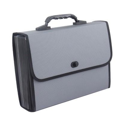 Portable Hand-held Knitted Organ Bag 26-tier Multi-tier Folders Office File Bag Paper File Bag