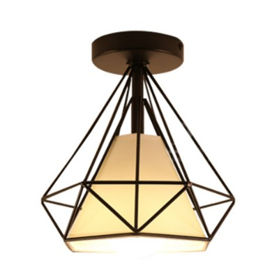 Nordic Flush Mounted Ceiling Lamp for Corridor Coatroom Bedroom Exquisite Iron Ceiling Light Simple Style Ceiling-mounted Luminaire LED Ceiling Light