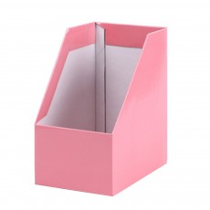 Corrugated Paper Desktop Receiving Box File Box File Shelf Folder Box File Column