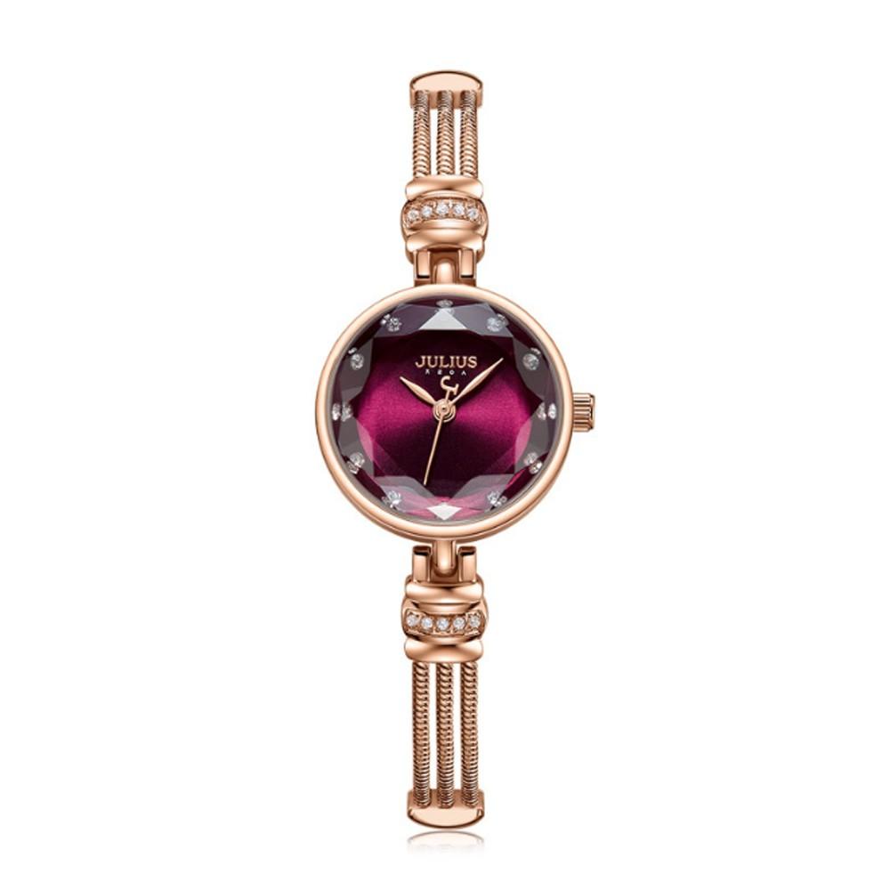 Style Women's Wristwatch Diamante Watchband Fashionable All-match Japanese Quartz Movement Wrist Watch Quartz Women's Watch