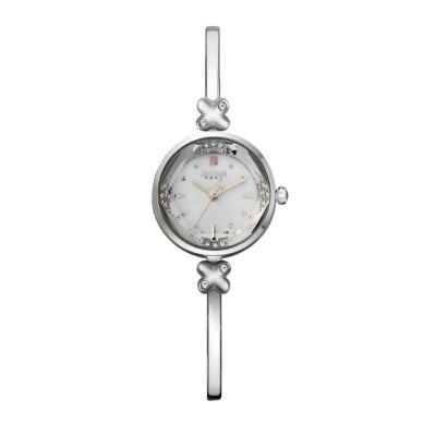 Slender Alloy Women's Wristwatch with Diamante Slim   Watchband Qualified Japanese Quartz Movement Wrist Watch Women's Watch