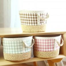 Home &Garden Storage Basket, Children's Toys Cosmetics Storage Basket Household Small Debris Storage Basket