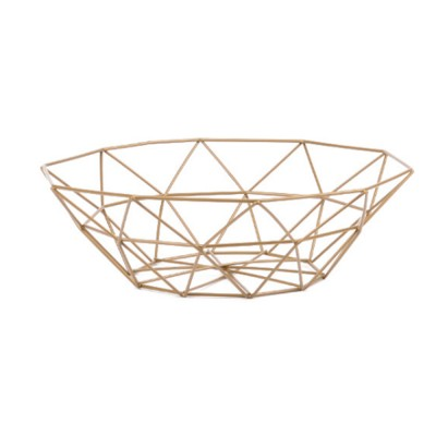 Metal Fruit Storage Basket, Iron Fruit Bowl, Nordic Home Storage Products Snack Storage Basket, Metal Household Organizer Basket