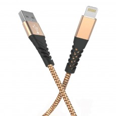 Nylon Braided Data Cable, Fiber Aluminum Alloy 8x 6s Charging Cable, Mobile Phone Charging Data Cable