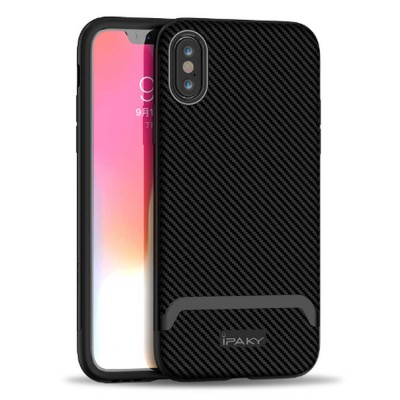 Corrugated Texture Phone Case Compatible for iPhone X/XS/Max, Anti-scratch Protective Cover for Apple iPhone 5.8-6.5 inch Universal Phone Cover