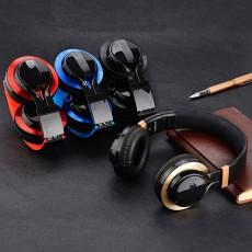 Subwoofer Karaoke Headset, MP3 Mobile Phone Gift Folding Headset, Bluetooth Waterproof New Mobile Phone Headset