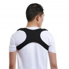 2019 New Adjustable Posture Corrector X-Shape Back Brace Straightener Upper Shoulder Spine Support Belt Unisex