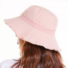 Japanese Hairline Cowboy Fisherman Hat Female Autumn Winter Sun Hat Personality Wild Hat Cap Folding Washable Cloth Cap