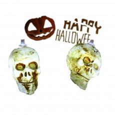 Skelton LED String Lights for Hallows' Day Decoration New Style Skull Spirit Festival Decorative Lighting Chains