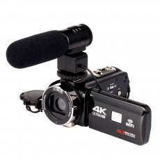 4K Ultra High Definition Night Vision Digital Video Camera Network Live WIFI Camcorder DV Camera