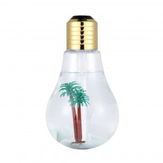 USB Mini Portable Bulb Air Humidifier Purifier Colorful Domestic Desk Decoration Mini Air Purification Atomizer Humidifier