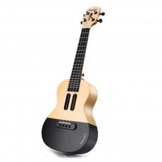 Populele Smart Ukulele for Beginning Learners' User-friendly Intelligent APP Teaching Piano LED Bluetooth Connection Ukulele
