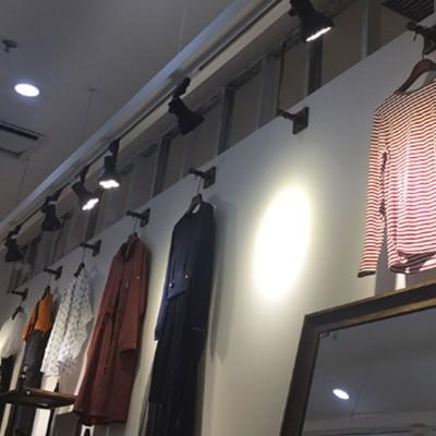 Par30 Ultra Bright Led Track Lighting For Clothing Art Gallery Warm Light Lamp Free Rotation Lazy Arm Tracking Spotlight