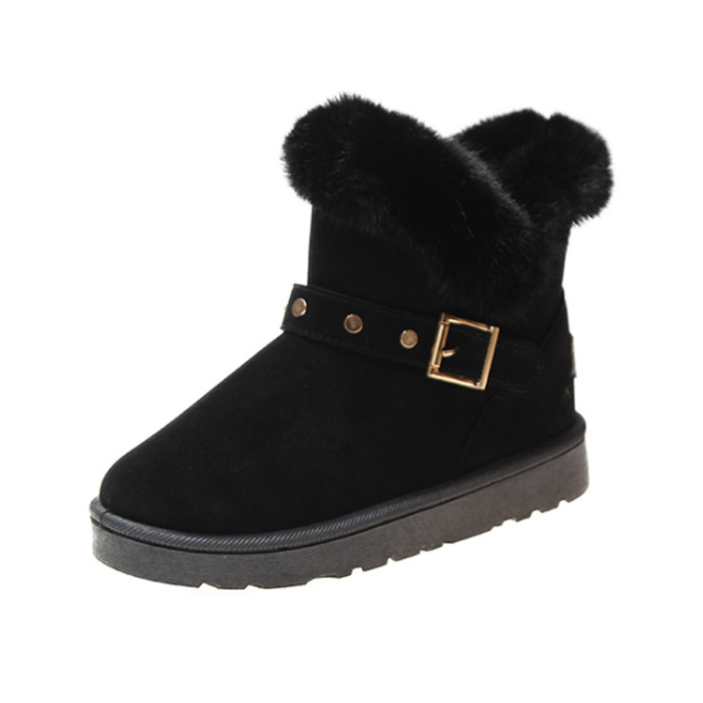 Winter Women Boots Shoes Warm Ankle Boots for Women 2019 Causal Winter Shoes Female Snow Boots