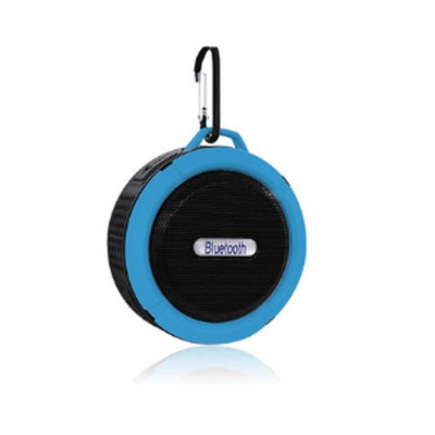 Waterproof Bluetooth Loudspeaker for Outdoors Travelling Hiking Portable Outdoor Mini Speaker Box Anti-dust Baffle Box With Suction Cup & Hook