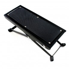 Solid Guitar Footstool Foot Rest 4-Level Adjustable Height Footstool Pedal Heavy Duty Metal Anti-slip Classical Pedal