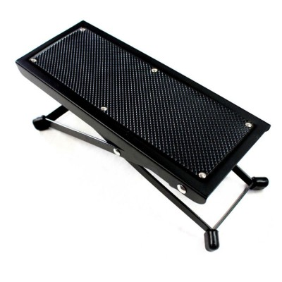 Magnificent Solid Guitar Footstool Foot Rest 4 Level Adjustable Height Footstool Pedal Heavy Duty Metal Anti Slip Classical Pedal Creativecarmelina Interior Chair Design Creativecarmelinacom