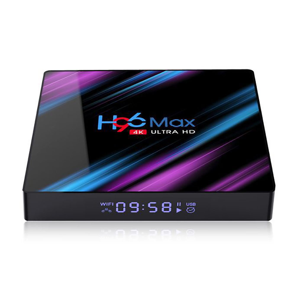 H96 MAX 4/32 GB Android Media Streamer Cheapest 4GB RAM 4K Android 9.0 Smart TV box RK3318