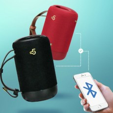 New Design Outdoor Portable Wireless Mini Portable Bluetooth Speaker Stereo Support TF Card Usb Charge Radio Subwoofer With Shoulder Strap