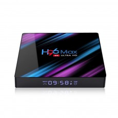 H96 MAX 4GB RAM 64GB ROM IPTV Box RK3318 Smart 4K TV Box with Android 9.0 ...