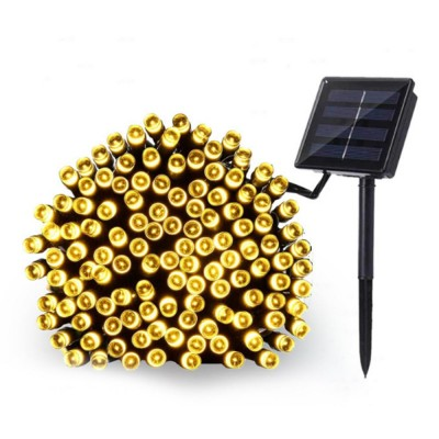 100 LED Solar Power Fairy Lights Holiday Lighting Christmas Holiday Party Outdoor Garden Xmas Tree Decoration String Lamp