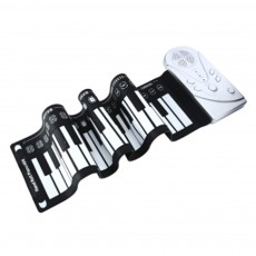 Hot Selling Hand Roll Piano With 49 Keys Portable Digital Piano Flexible Roll-Up Piano Midi Electronic Keyboard for Adult Children