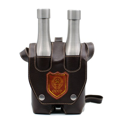 New Design Beer Holder Hot Selling Tumblers Double Wall Stainless Steel Insulated Keep Cold Beer Bottle