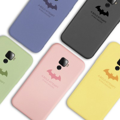 Creative Cool Bat Man Pc Liquid Silicone Mobile Phone Case Shockproof Cover Ultra Thin Back Shell For Huawei Nova 5 Pro 5i Pro Skin Protecter