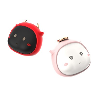 Portable Mini USB Charging Hand Warmer Power Supply Angel Demon Christmas Gifts Body Power for Cold Weather Heating