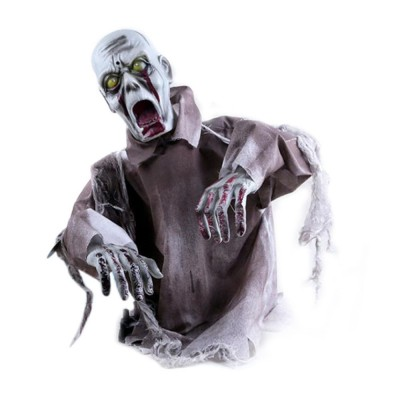 New Style Swinging Ghost Ornament for Room Escape Decoration Large Size Zombie Toy Electronic Horrible Standing Dancing Ghost Zombie Props
