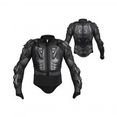 Motorcycle Protective Jacket Full Body Motorcycle Armor Protector Uniform, Long Sleeve Racing Amour for Cross-country Cycling Outdoors Sports