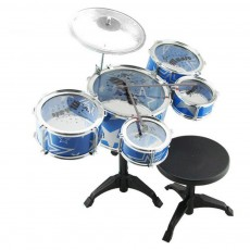 Large Size Kids' Jazz Drum Kit for Kids' Gift Choice Environment-friendly and Safe Drum Set Easy Using Jazz Drum Set