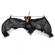 Luminous Spider Ghost String Toy for Halloween Fun Simulated Halloween Bat String Decorative Plaything Simulation Knickknack