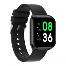 Ultrathin Square Smart Watch for Outdoors Climbing Running Waterproof Fashionable Electronic Wristwatch with Removable Watchband