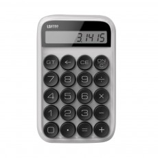 Retro Style Keyboard Calculator for Office Use Mechanical Dot Keycap Key Calculator Stylish Durable Calculator