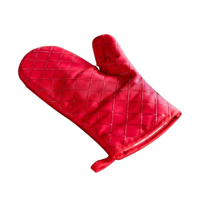 Heat Resistant Baking Glove for Oven Microwave Oven Thickened and Heat-insulated Glove Cotton Cloth Anti-scald Glove