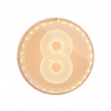 Romantic Digit LED String Lights for Marriage Proposal Birthday Decorative Arabic Numeral Neon Light