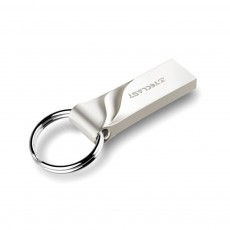 Minimalist Waterproof Shock-proof Crush-resistance Business Student USB Flash Disk with Portable Ring Original Chip