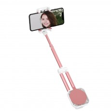 Multifunctional Stretchable Selfie Stick with Sucker Multi-angle Rotatable Foldable Mobile Phone Supporter Holder
