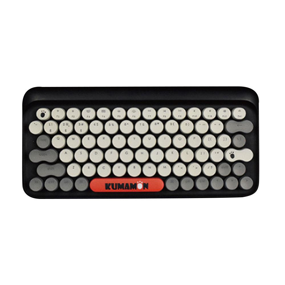 LOFREE Kumamon Dot Bluetooth Mechanical Keyboard Laptop Tablet IPAD Wireless Retro Keyboard