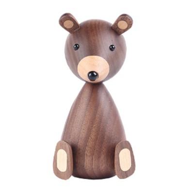 Nordic Creative Puppets Walnut Bears Danish Squirrels Creative Home Furnishings Birthday Gifts