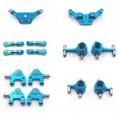Universal Aluminum Alloy Metal Accessories Compatible with P939 K979 K989 K999 K969 Complete Set Metal Accessories for Model Scale 1:28