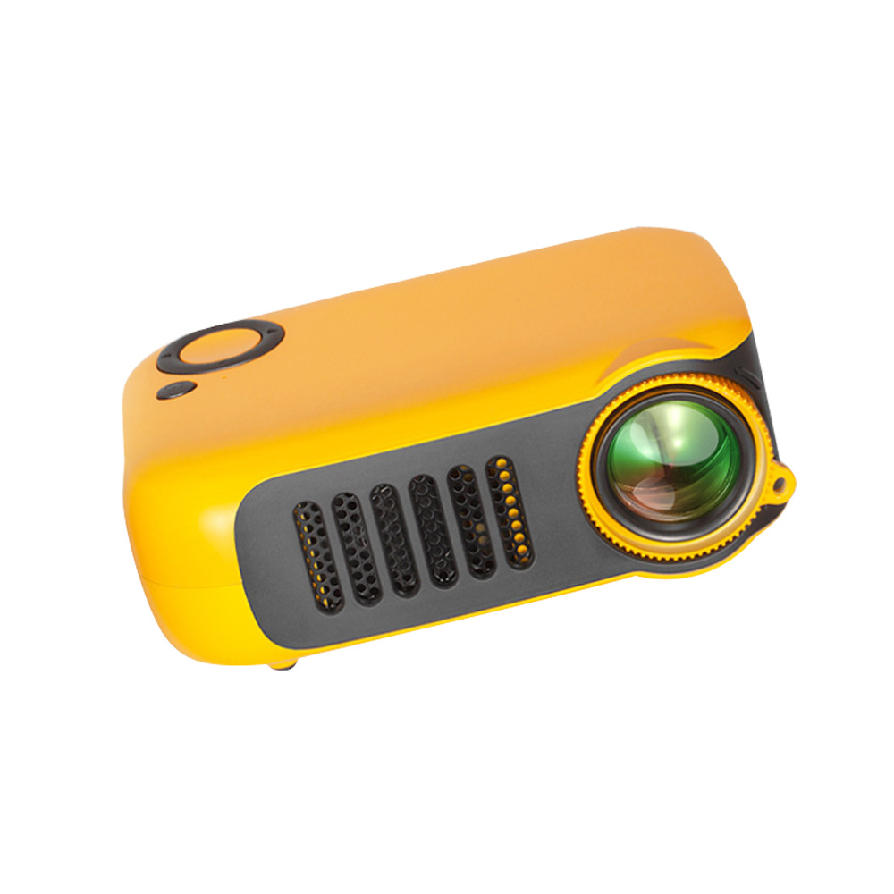 A2000 Mini Portable Household High Lightness Desktop Projector HD 1080P Projection with Wide Compatibility