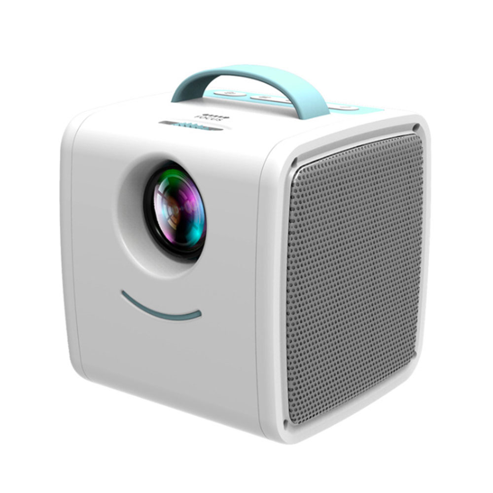 Portable Q2 Mini Household Children High Definition LED Projector Easy Operation Multiple Video Input Modes