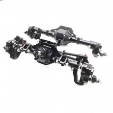 Complete Metal Rear Axle Front and Rear Axle for Simulated Rock Crawler SCX 10 Third Generation 90046 90047